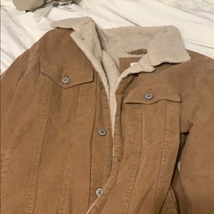 Brandy Melville fur jacket